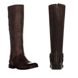 Frye Phillip Harness Tall Wide Calf Boots